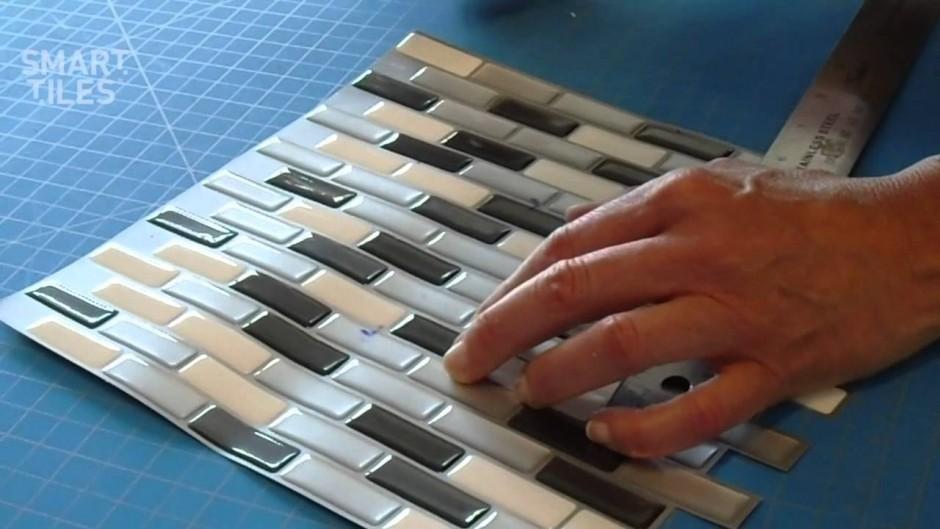 Peel And Stick Tile | Peel And Stick Kitchen Backsplash | Home Depot Peel And Stick Tile