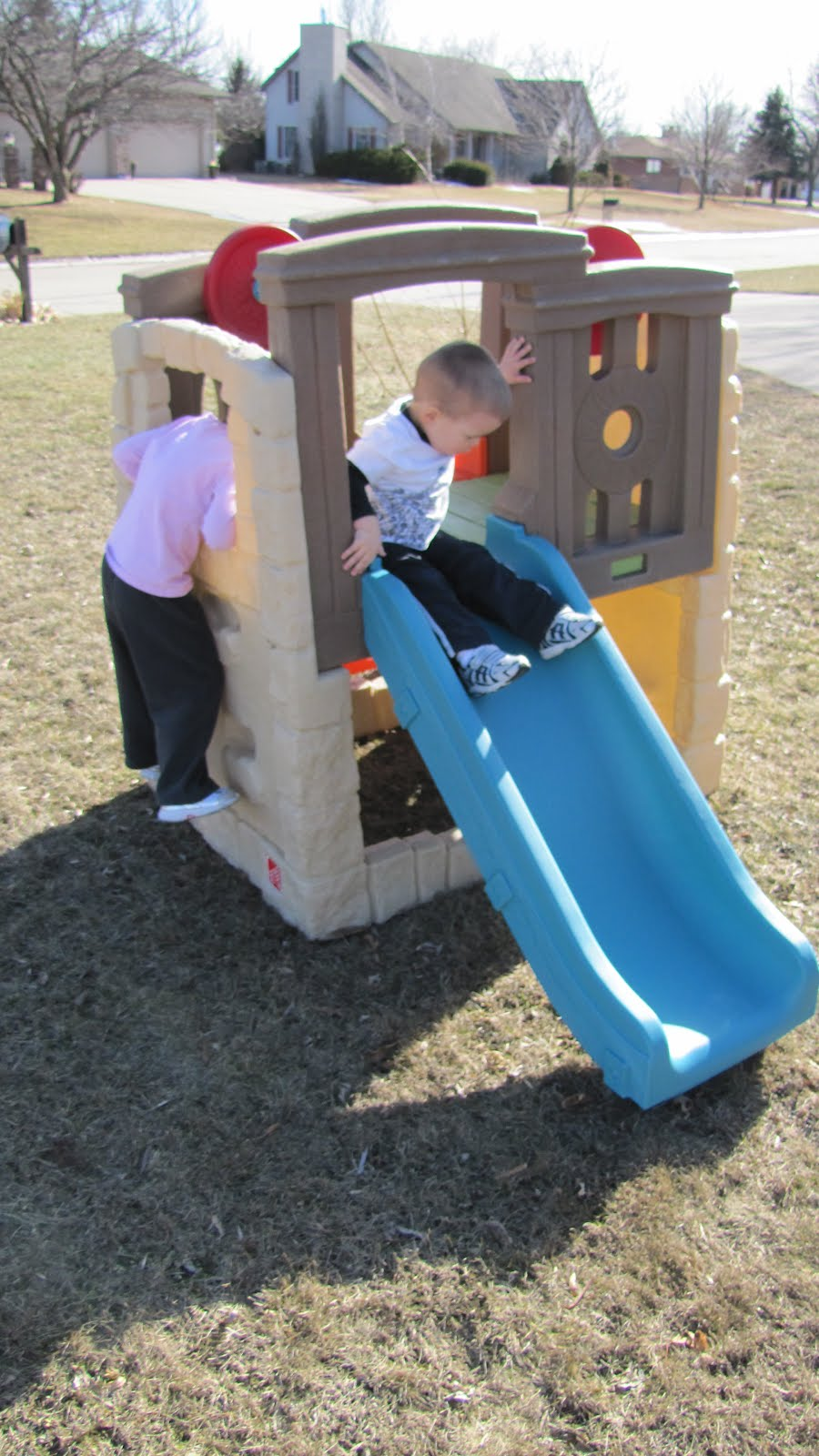 Playground Step 2 | Step2 Naturally Playful Woodland Climber | Step 2 Clubhouse Climber Used for Sale