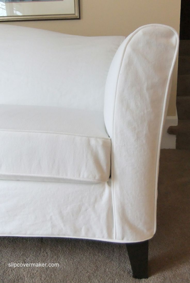 Pottery Barn Slipcover Couch   Ethan Allen Slipcovers   Ethan Allen Leather Couch