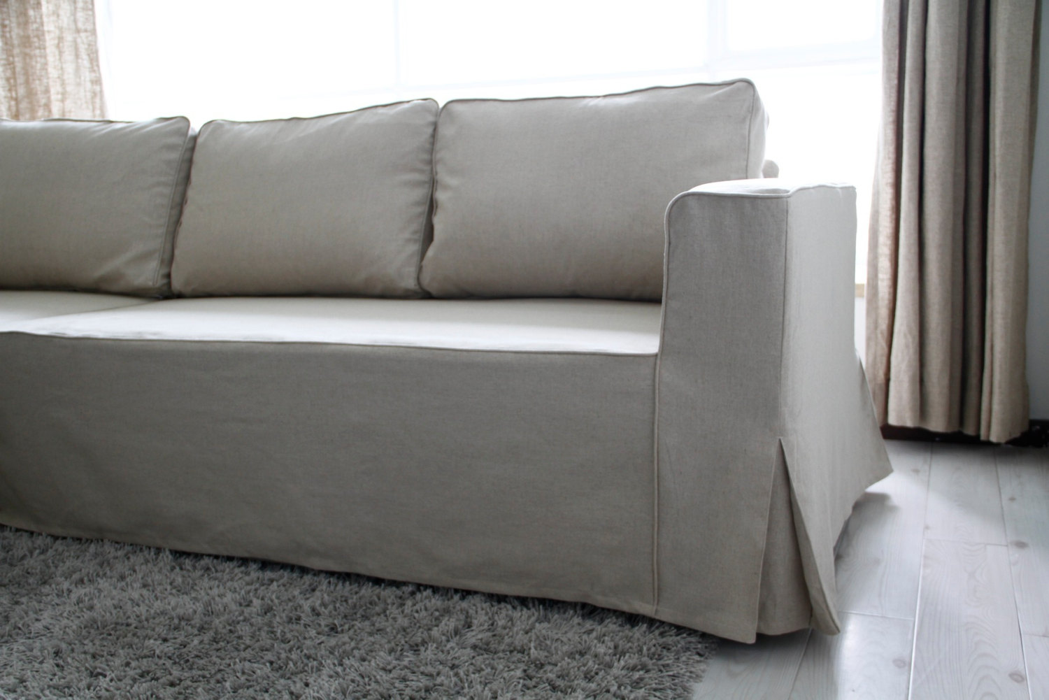 Recliner Couch Covers | Slipcovers for Sofas with Cushions Separate | Slipcovers for Couches