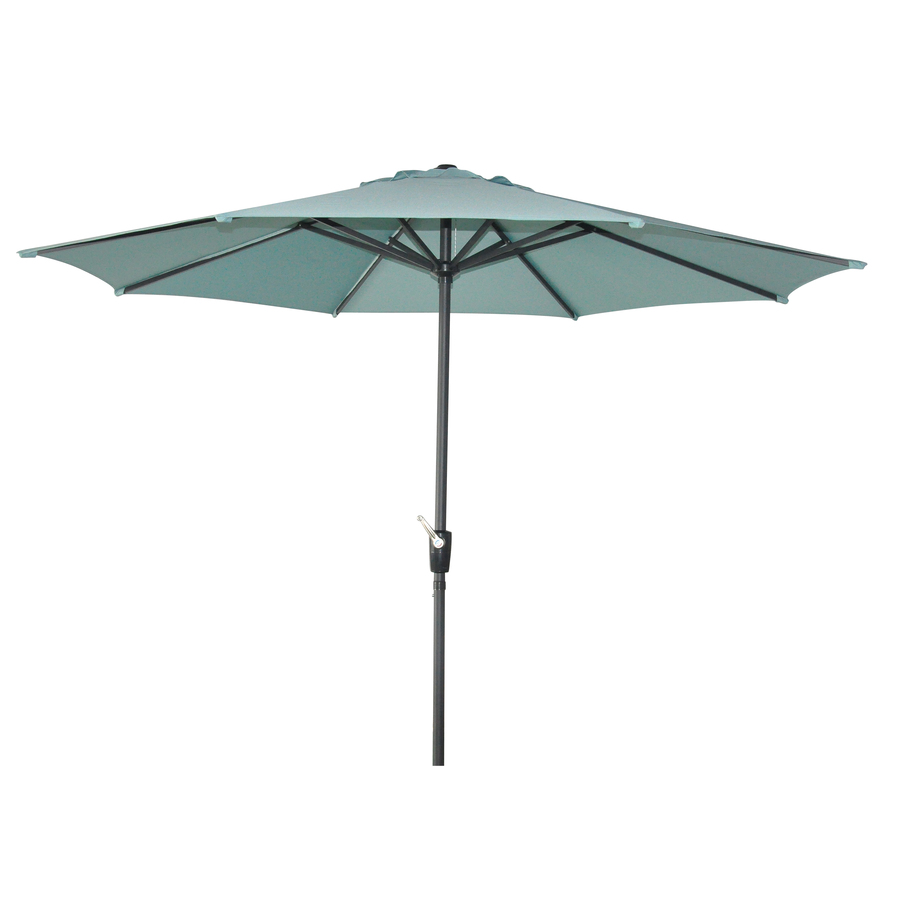 Rectangular Patio Umbrella with Solar Lights | Garden Treasures Offset Umbrella | Half Umbrella Base
