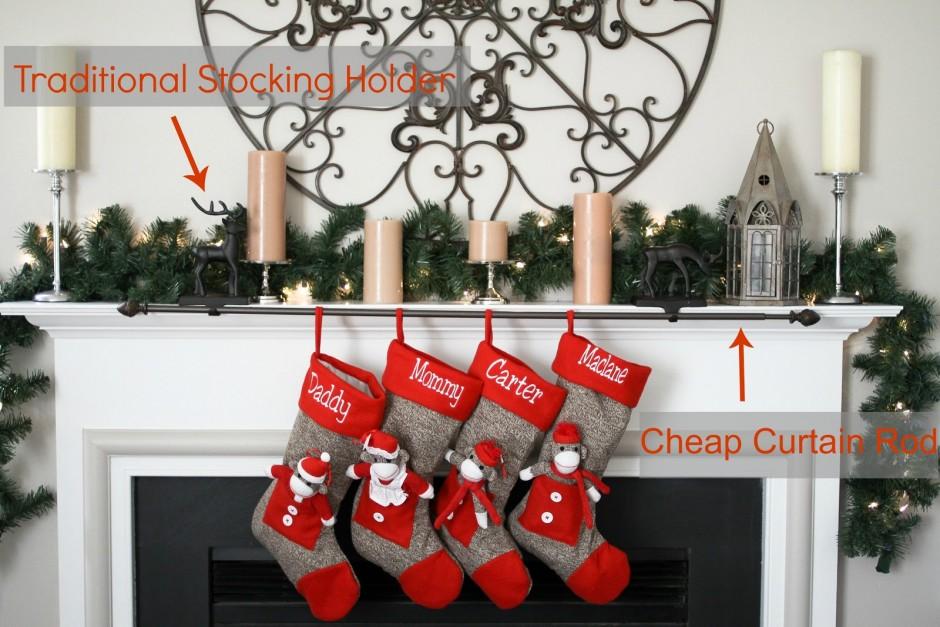 Rifle Stock Ammo Holder | Stocking Holders | Christmas Stocking Tree
