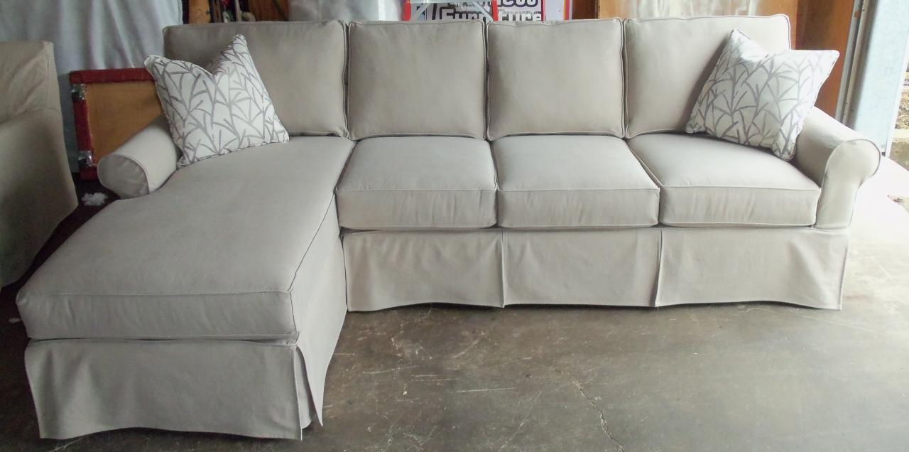 Rowe Brentwood Sectional | Sofa Covers for Sectionals | Rowe Furniture Slipcovers
