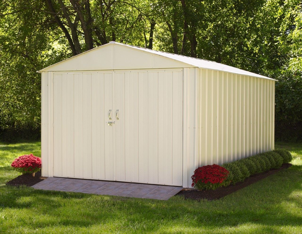 Rubbermaid Storage Sheds | Rubbermaid Slide-lid Storage Shed | Home Depot Rubbermaid Storage Sheds