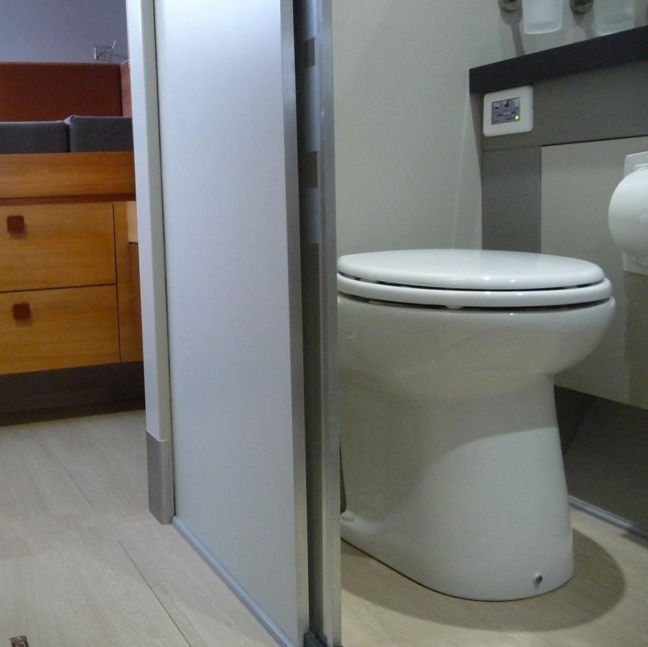 Sani Flush Toilet | Saniflo Macerating Toilet System | Saniflo