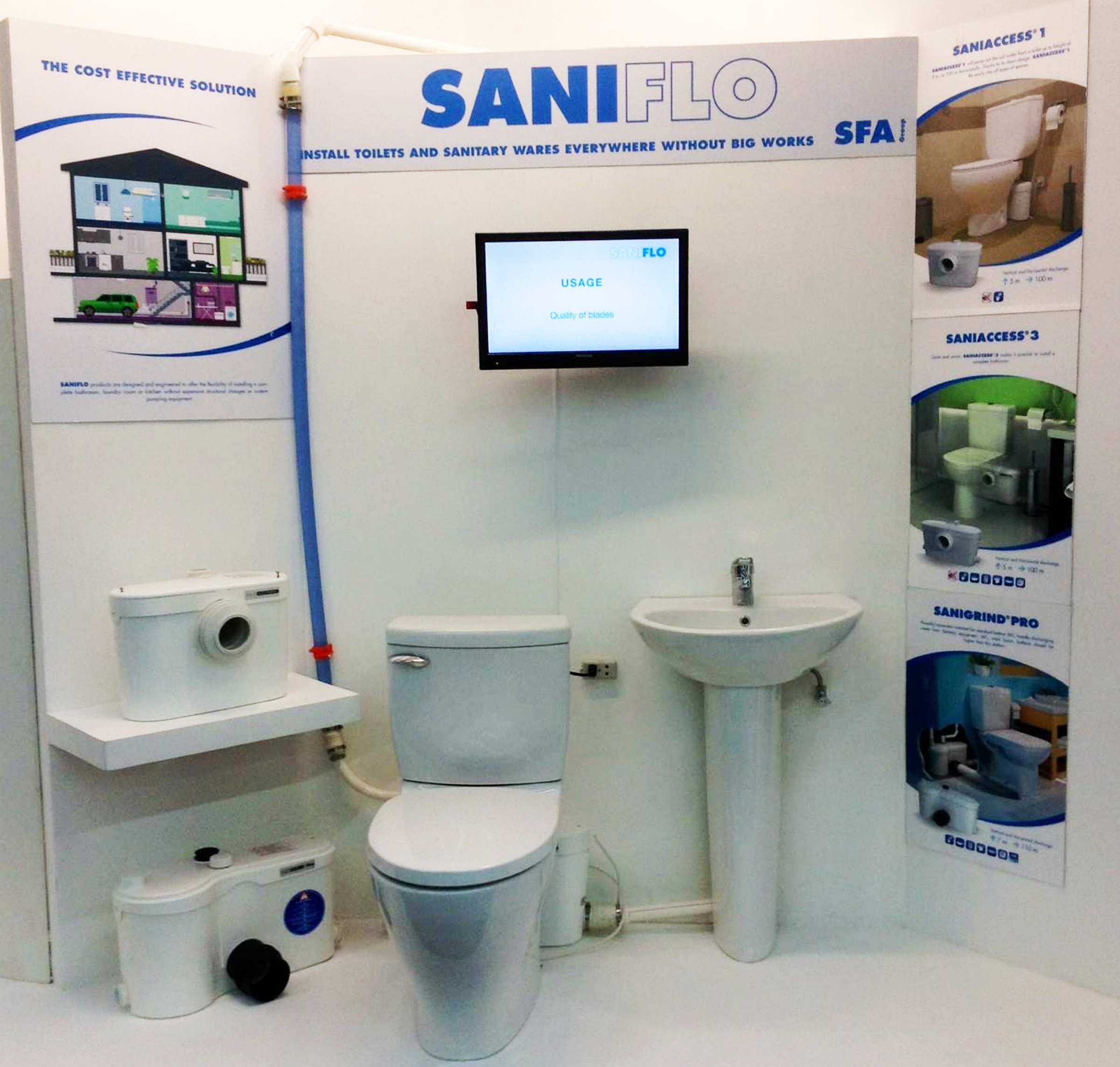 Saniflo System Problems | Saniflo | Upflush