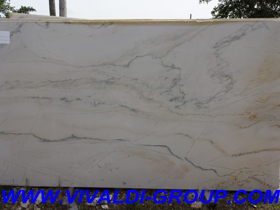 Sea Pearl Granite | White Quartzite Countertops | Macaubas Quartzite