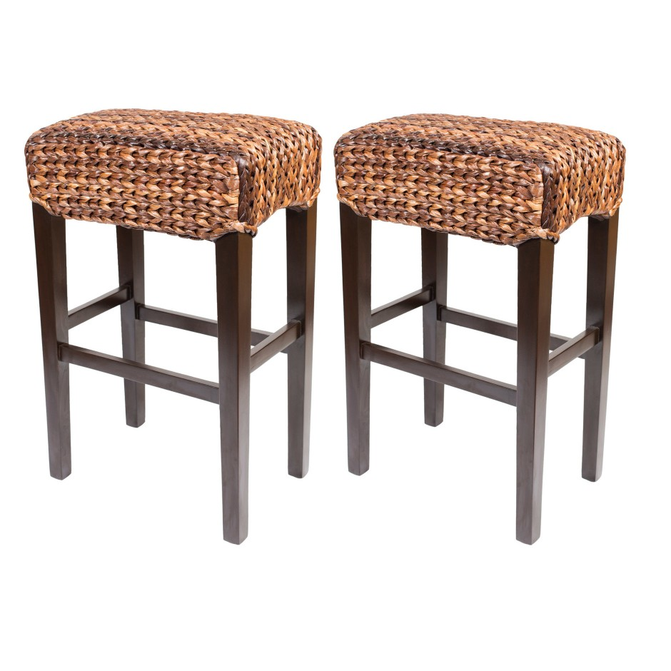 Seagrass Bar Stools | Leather Bar Stools | Metal Bar Stools