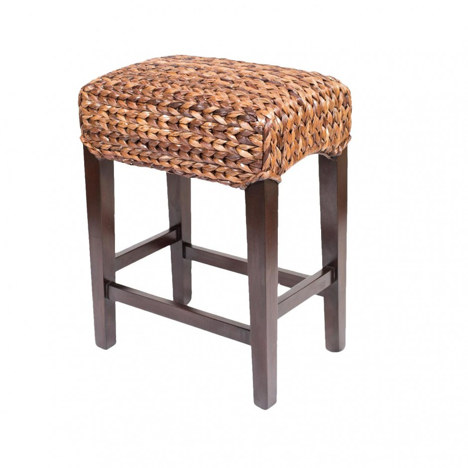 Seagrass Bar Stools | Swivel Bar Stool | 24 Inch Bar Stools