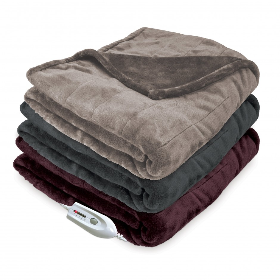 Sealy Electric Blanket | Biddeford Electric Blanket | Biddeford Plush Heated Blanket