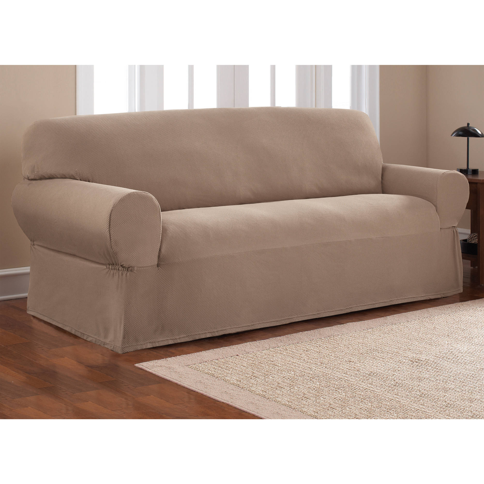 Sectional Couch Slipcovers | Couch Seat Covers | Slipcovers For Sofas With Cushions Separate