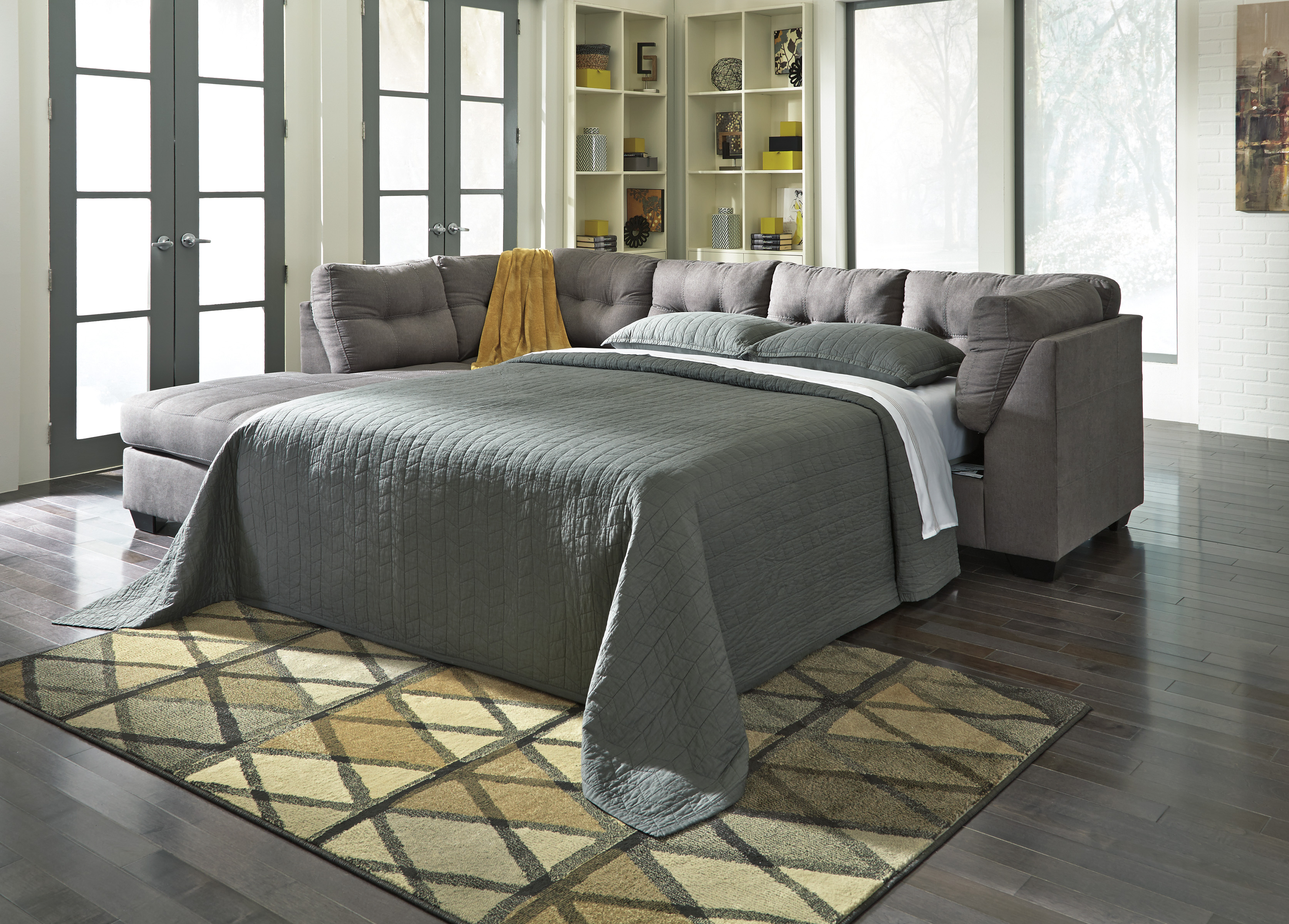 Furniture Rug Fancy Sectional Sleeper Sofa For Best Home
