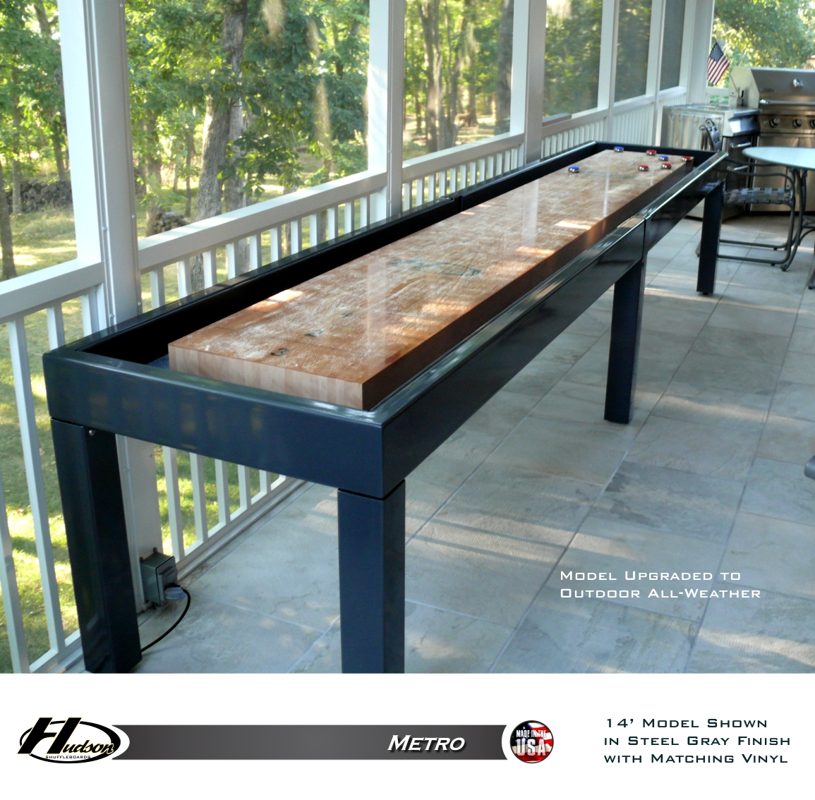 Shuffleboard Table | Ricochet Shuffleboard Table | Bar Shuffleboard Scoring