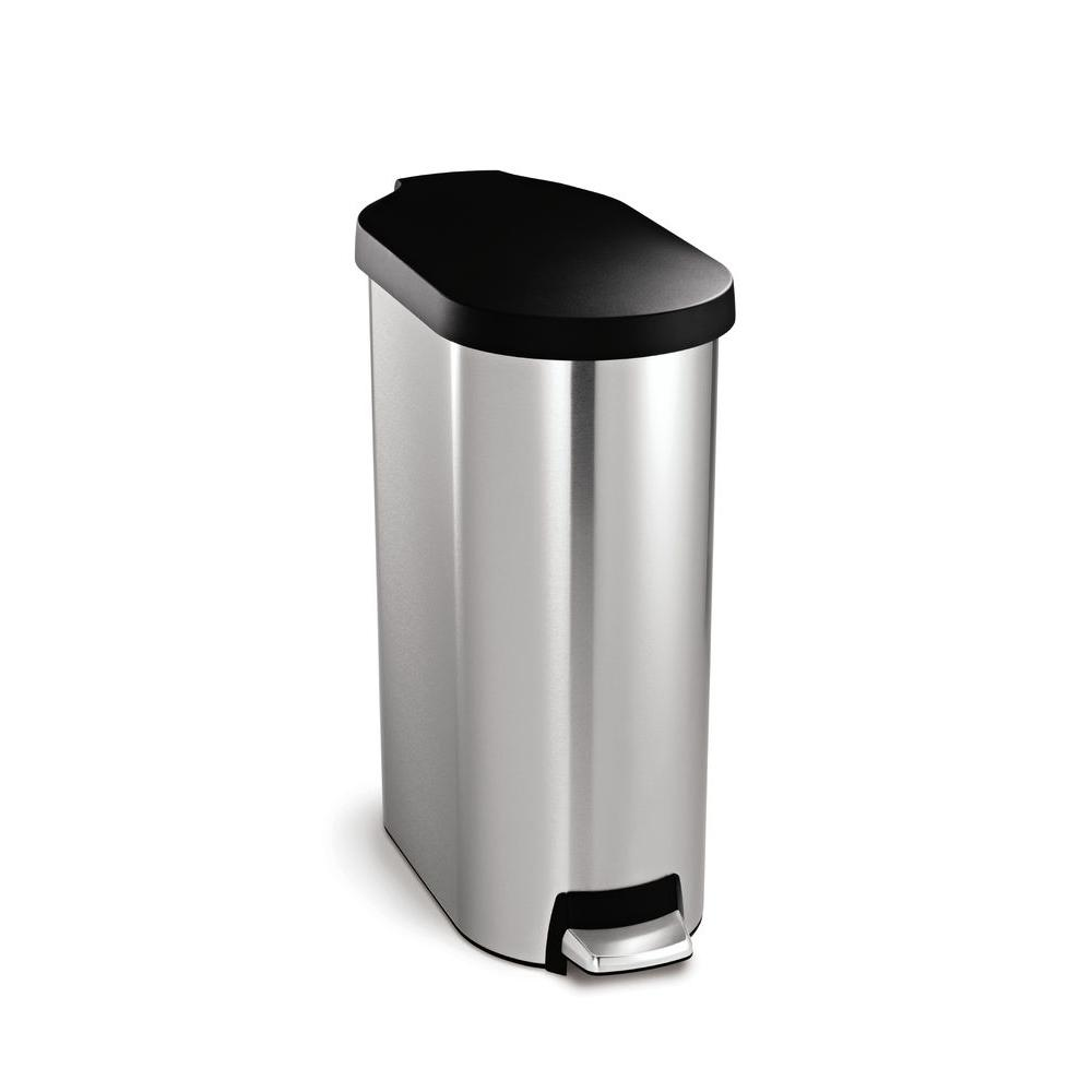 Simple Human Garbage | Recycle Trash Can Combo | Simplehuman Recycler