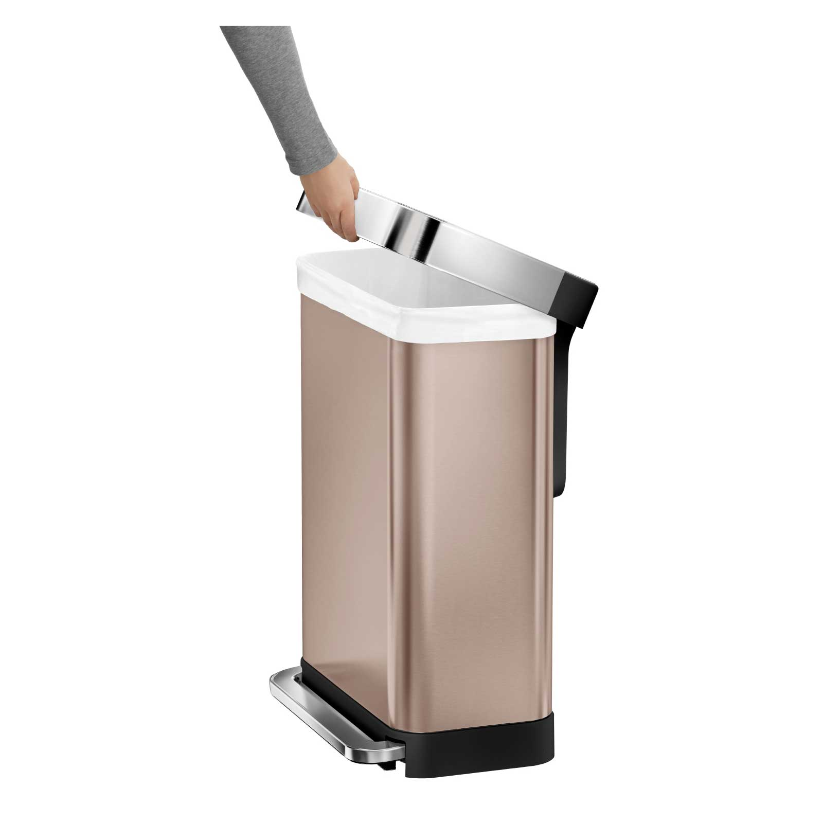 Simple Human Trashcan | Simplehuman Garbage Can | Simplehuman Recycler