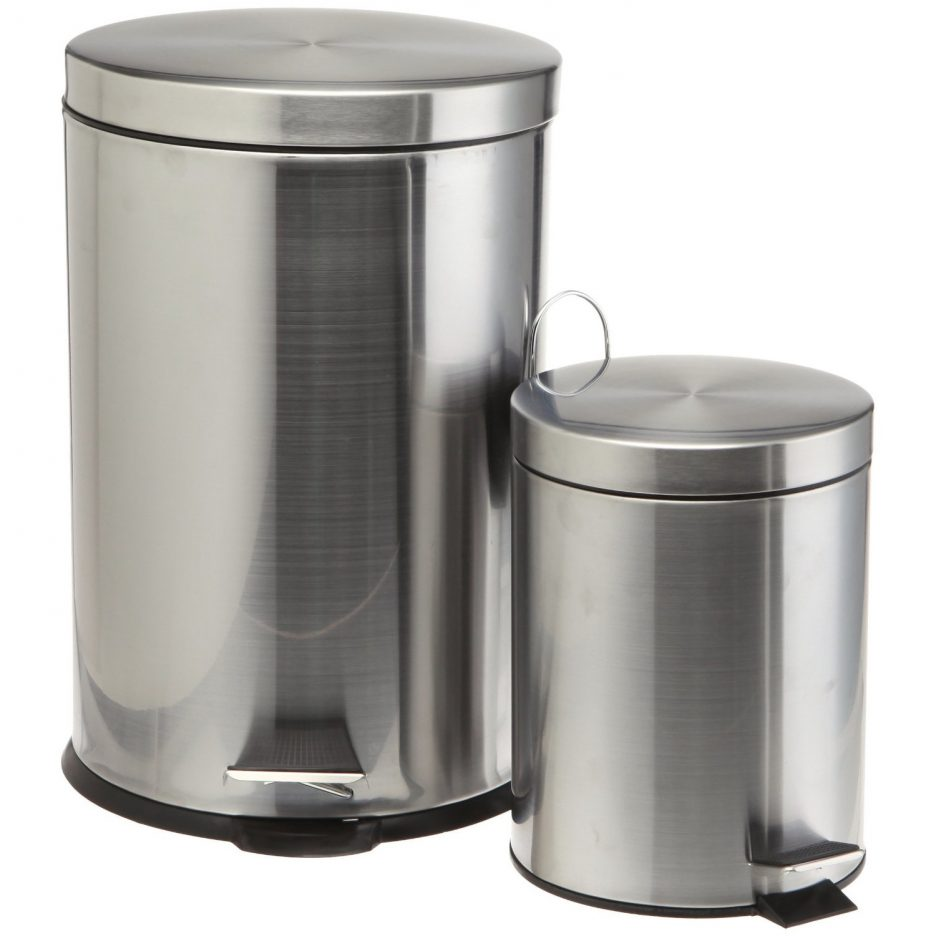 Simplehuman 20 Liter Trash Can | Simplehuman Recycler | Stainless Steel Recycling Bin
