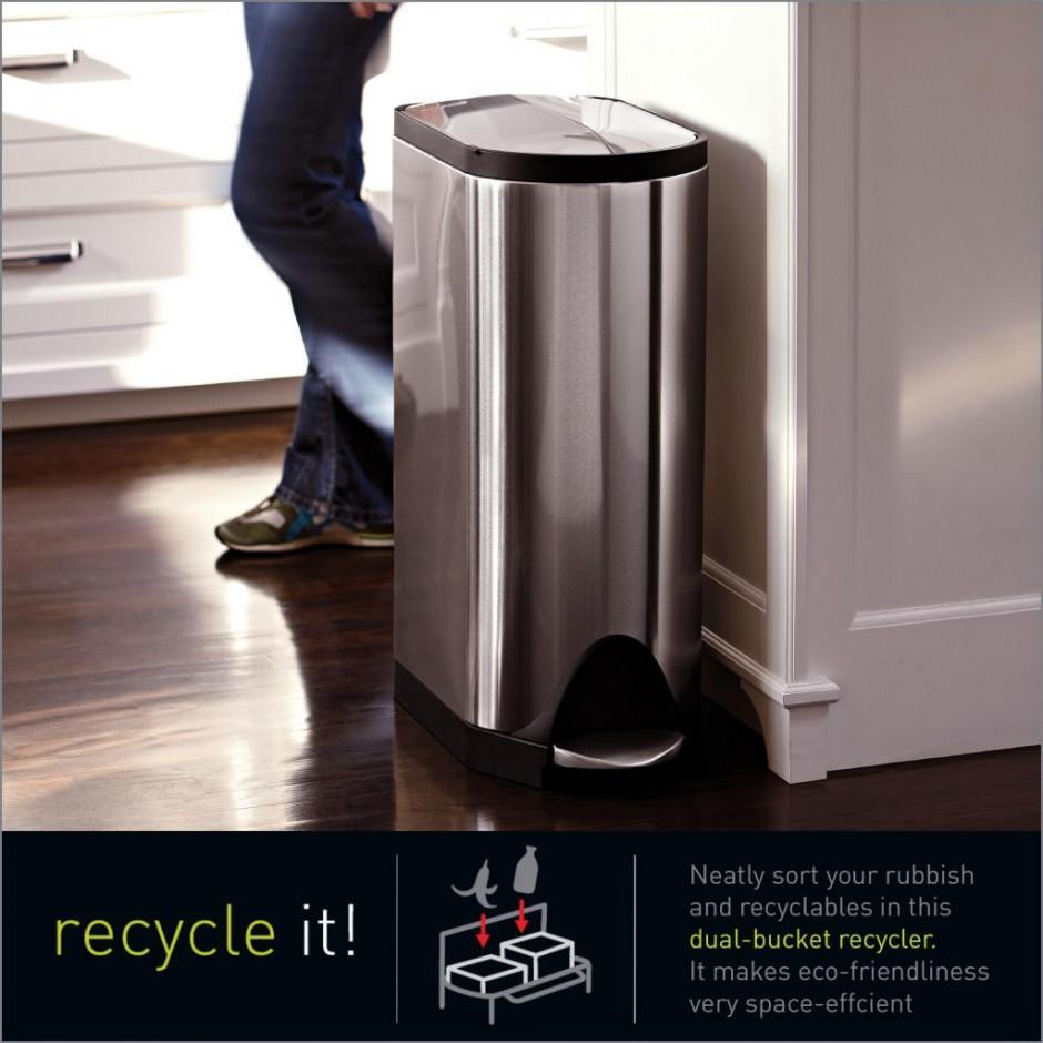 Simplehuman 50l Trash Can | Simplehuman Recycler | Simplehuman Deals