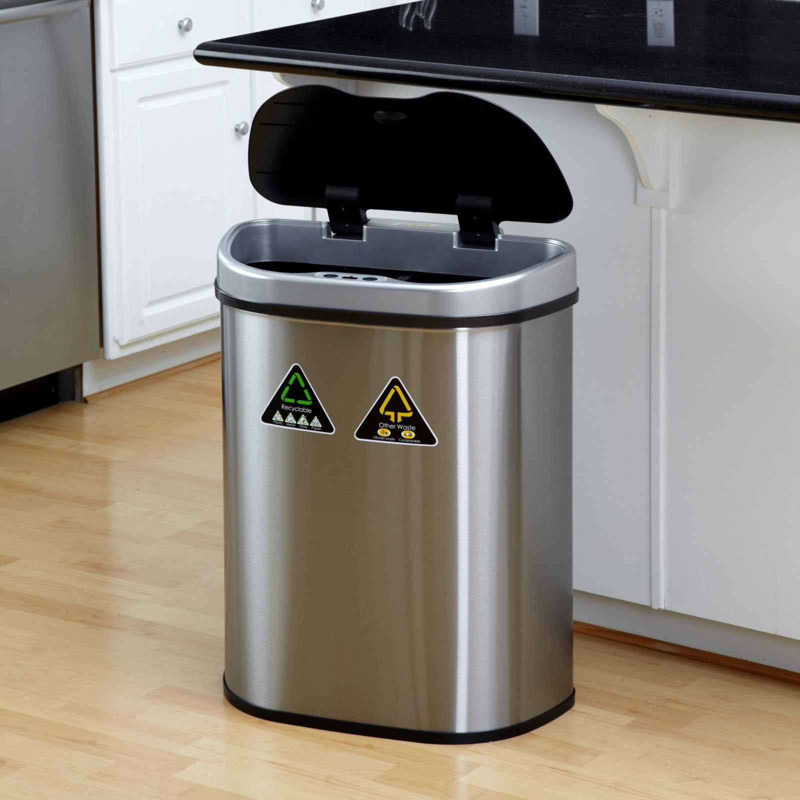 Simplehuman Amazon | Stainless Steel Garbage Can Home Depot | Simplehuman Recycler