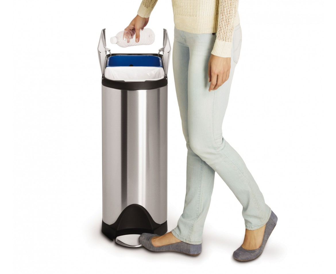 Simplehuman Recycle Bin | Simplehuman Recycler | Recycler Trash Can
