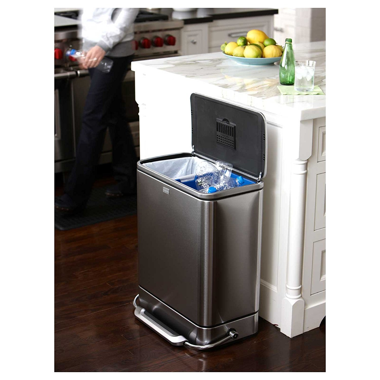 Simplehuman Recycler | Amazon Simplehuman Trash Can | Simplehuman Amazon