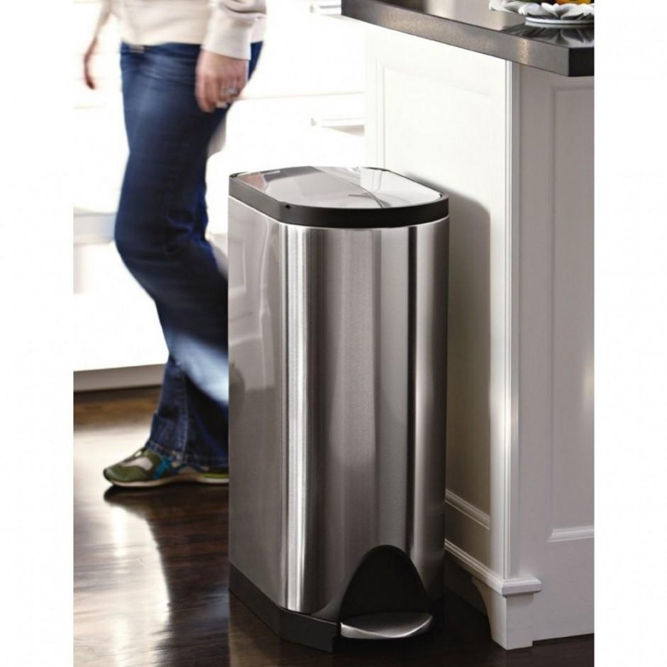 Simplehuman Recycler | Simple Human Garbage Can | Trash Can Simplehuman