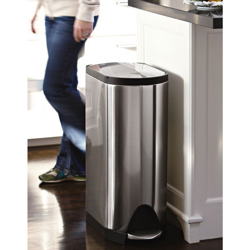 Simplehuman Recycler | Simple Human Garbage Can | Trash Can Simplehuman