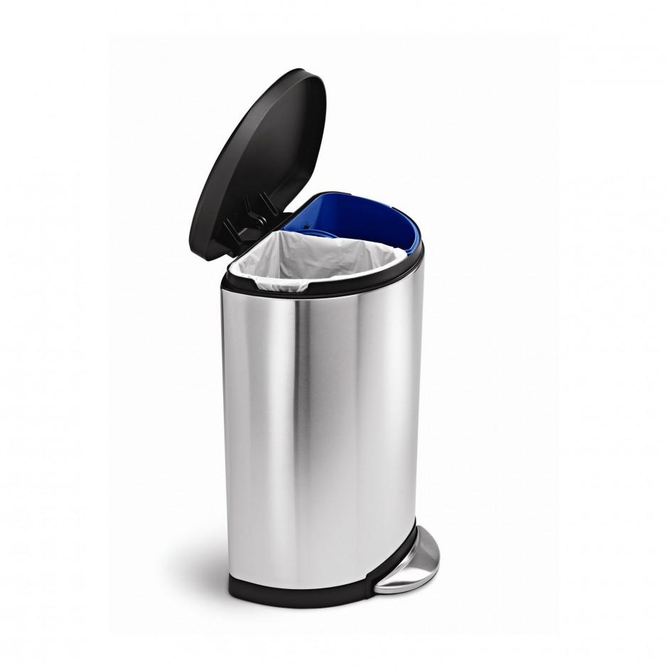 Simplehuman Recycler | Simplehuman Recycling | Simplehuman Trash Can Lid