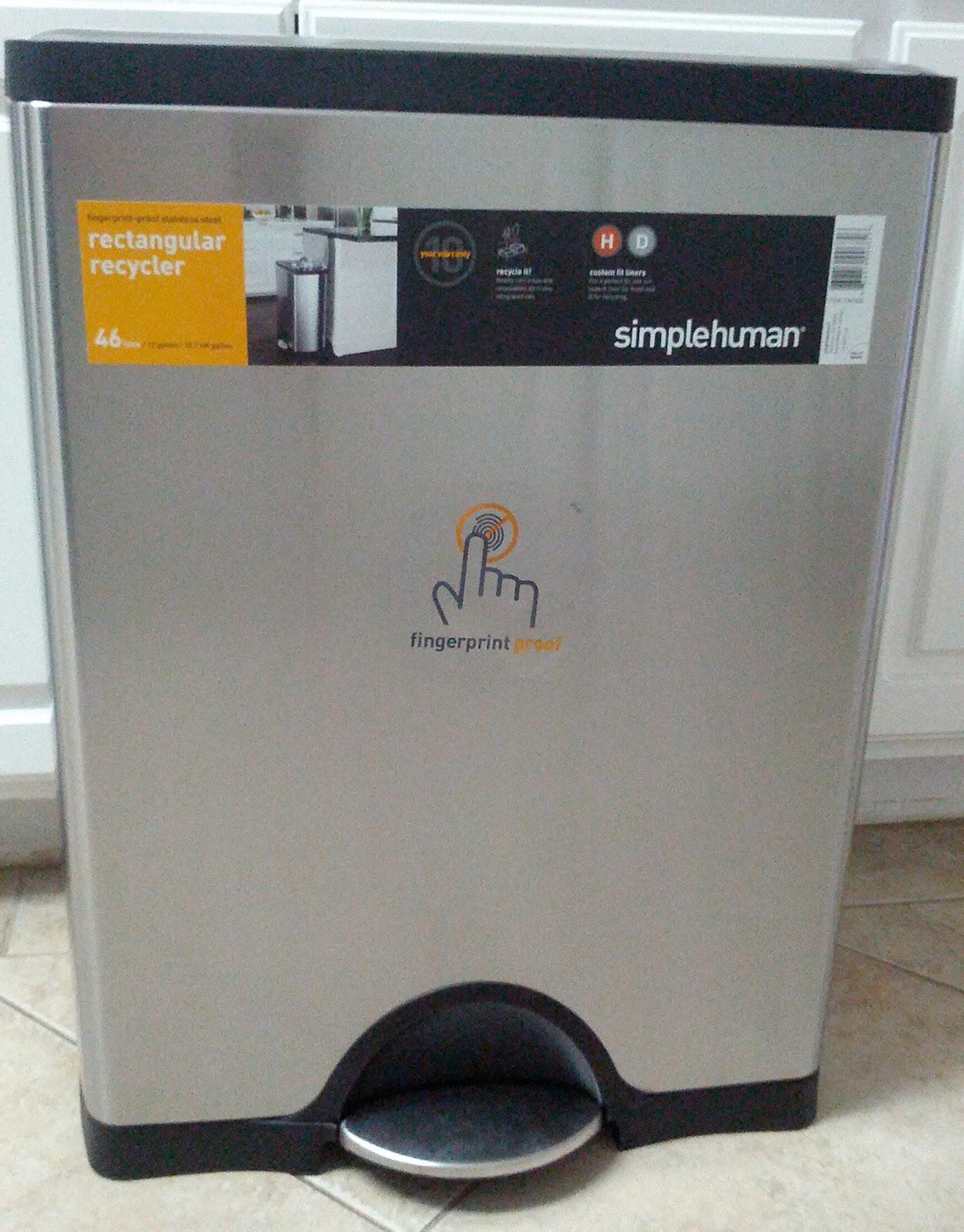 Simplehuman Recycler | Simply Human Trash Can | Simplehuman Trash Bags