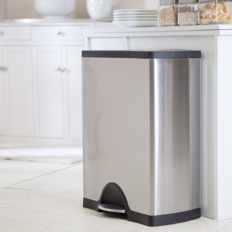 Simplehuman Trash Can Amazon | Dual Stainless Steel Trash Can | Simplehuman Recycler