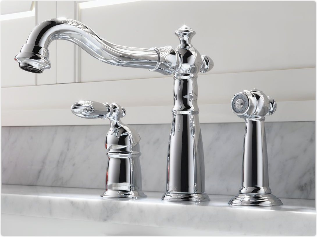 Single Handle Kitchen Faucet | Grohe Kitchen Faucet Parts | Kitchen Faucets