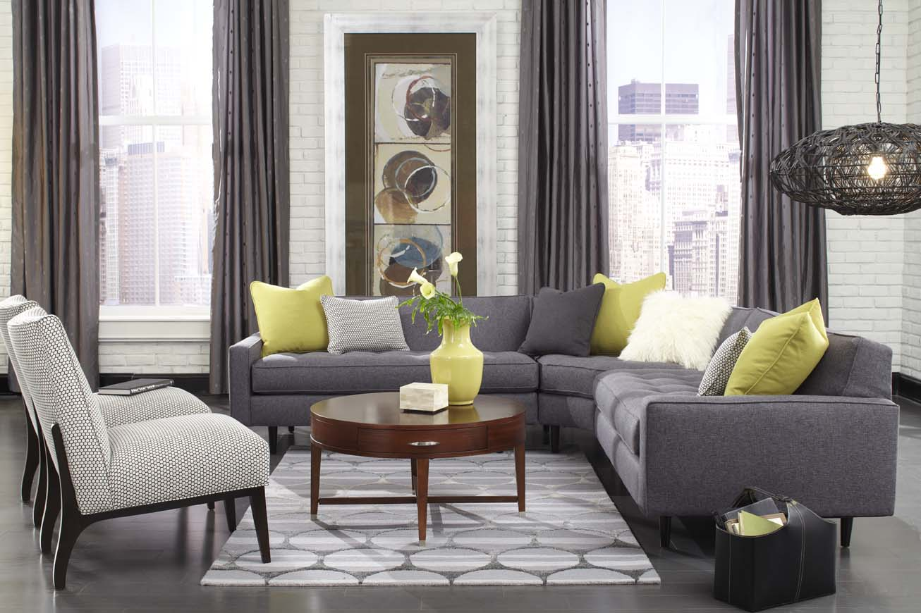 Slip Cover Sectional | Slipcovered Couch | Rowe Furniture Slipcovers