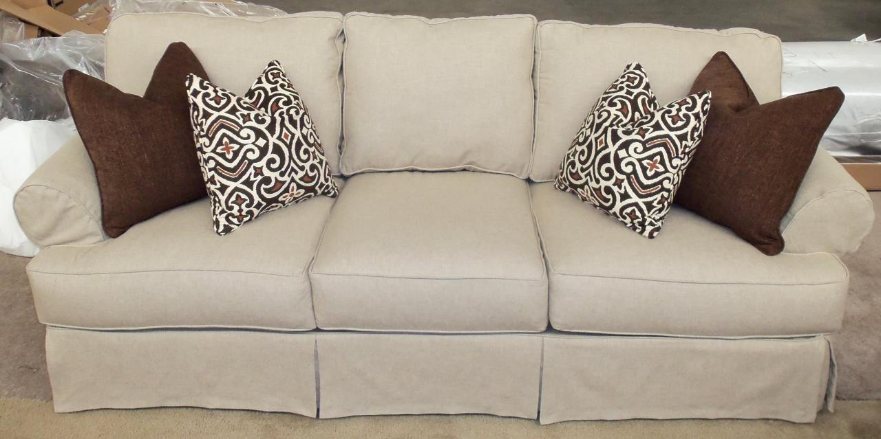 Slip Covers Sofa | Rowe Furniture Slipcovers | Chaise Slipcover Indoor