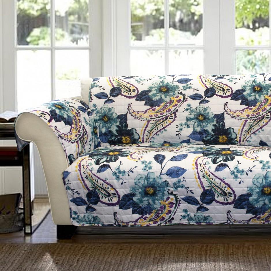 Slipcovered Furniture | Ethan Allen Slipcovers | Pb Comfort Sofa