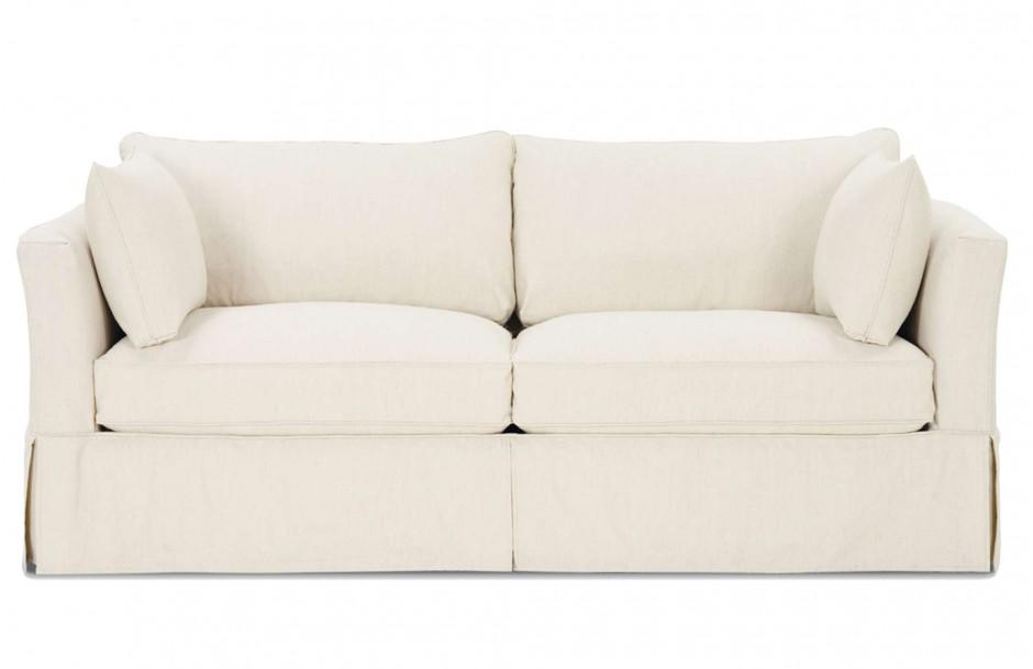 Slipcovered Sofa | Pottery Barn Denim Sofa | Ethan Allen Slipcovers