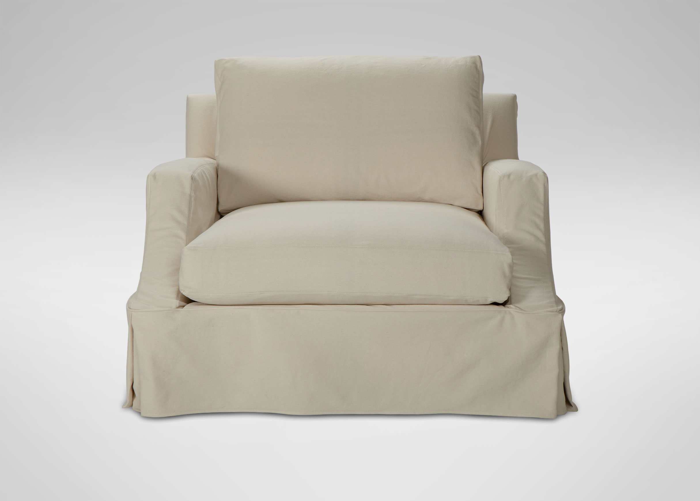 Furniture & Rug Slipcovered Sofas Clearance