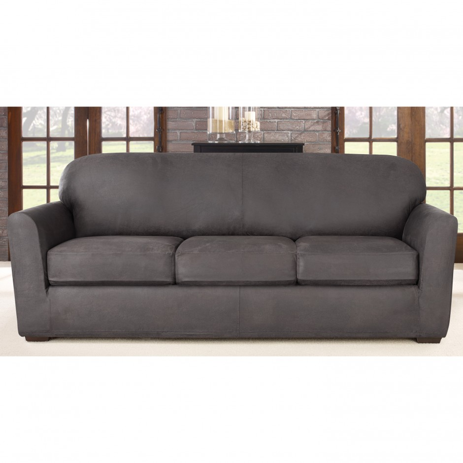 Slipcovers For Sofas With Cushions Separate | Club Chair Slipcovers | Waterproof Couch Protector