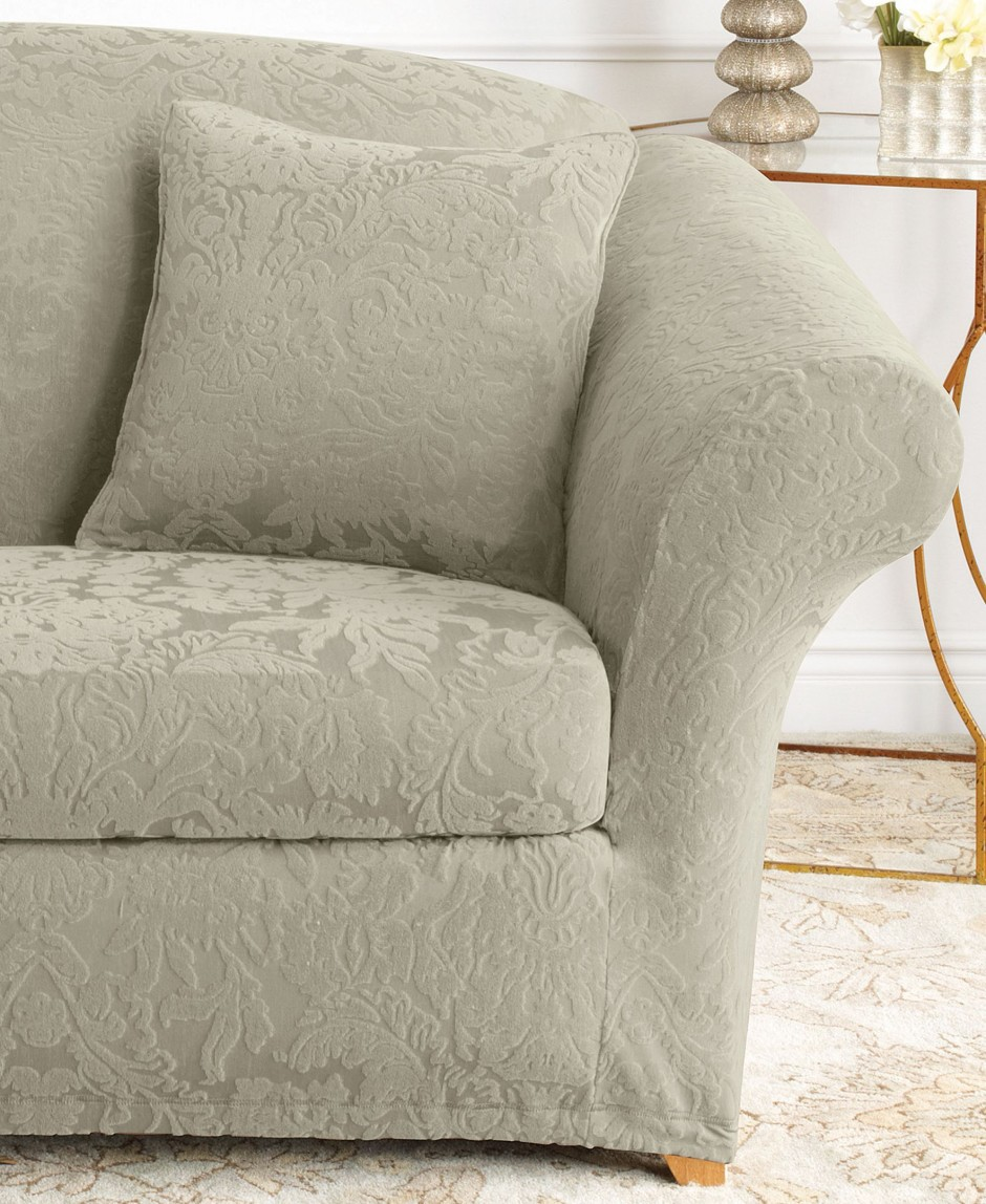Slipcovers For Sofas With Cushions Separate | Couch Covers For Sectionals | Cheap Slipcovers