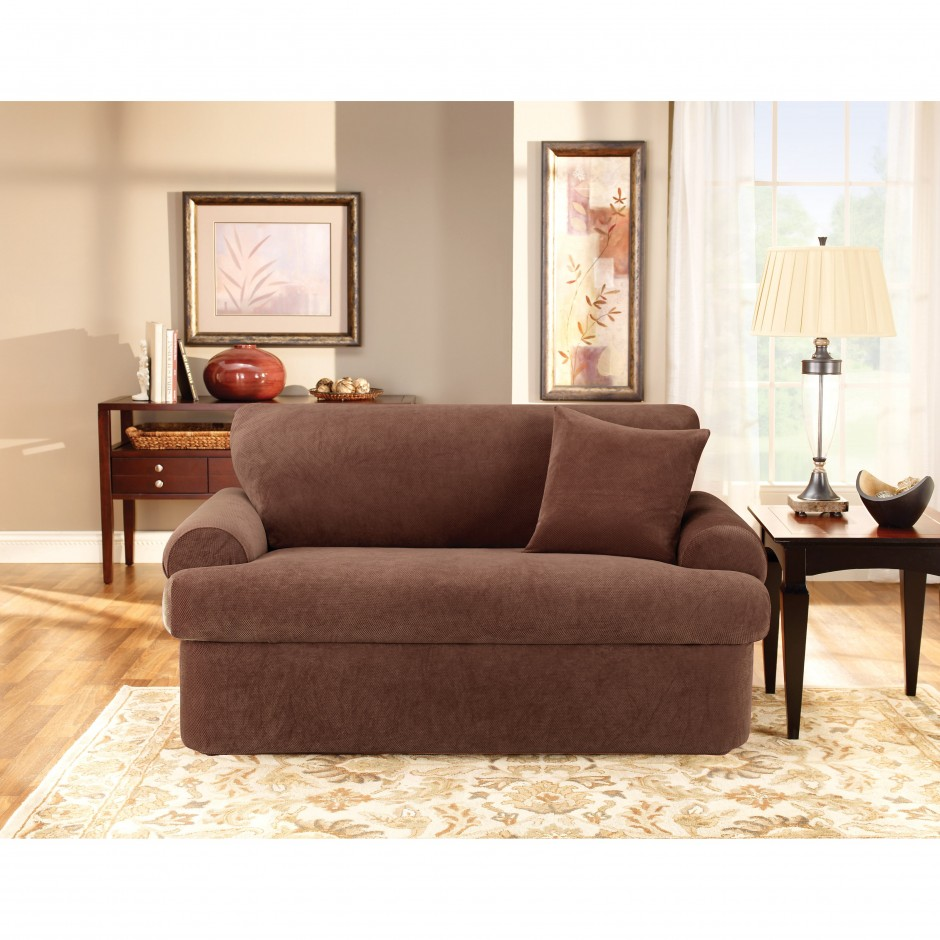 Slipcovers For Sofas With Cushions Separate | Fitted Couch Covers | Sectional Slipcovers
