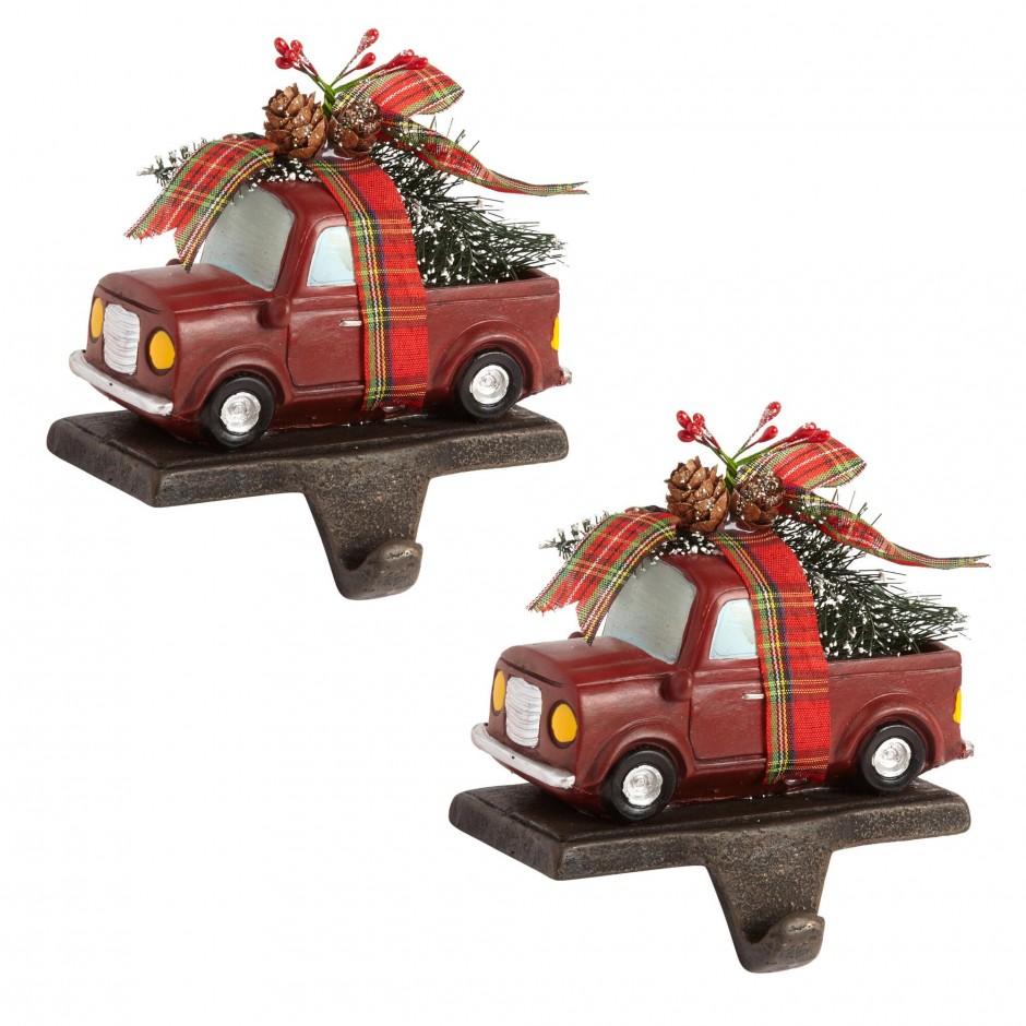 Snowflake Stocking Holder | Stocking Holders | Joy Stocking Holder Set
