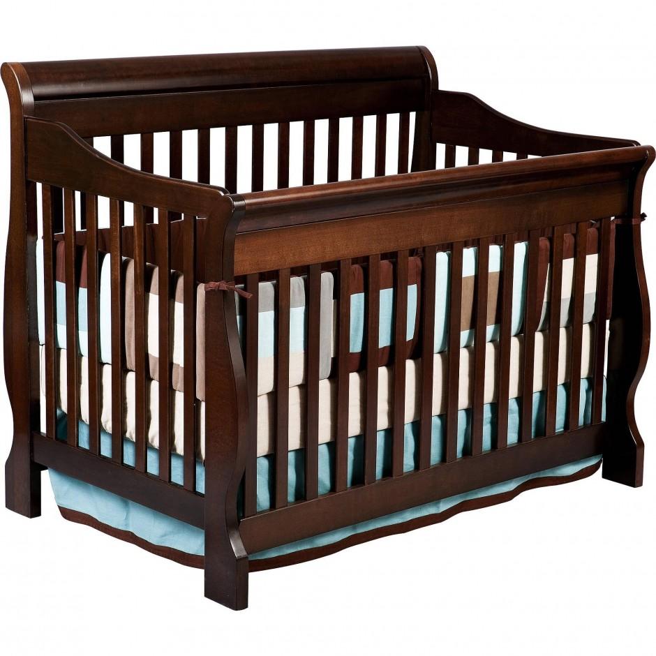 Sorelle Tuscany Toddler Rail Espresso | Sorelle Crib And Changer | Sorelle Vicki Crib