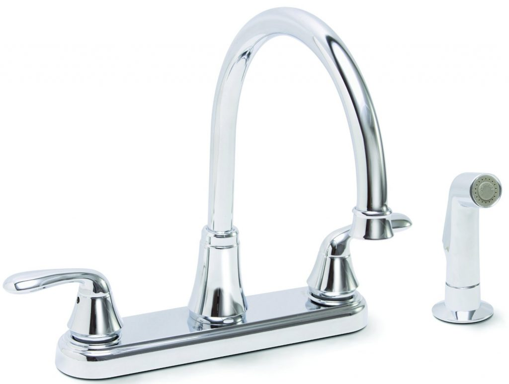 steel pre dp amazon rinse single com down pull commercial faucet kpf kraus stainless handle style kitchen