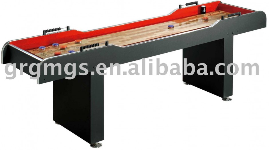 Standard Shuffleboard Table Length | Snap Back Shuffleboard Table | Shuffleboard Table