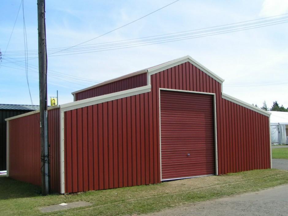 Steel Garages And Shops   Ameribuilt Steel   Metal Shed Kits