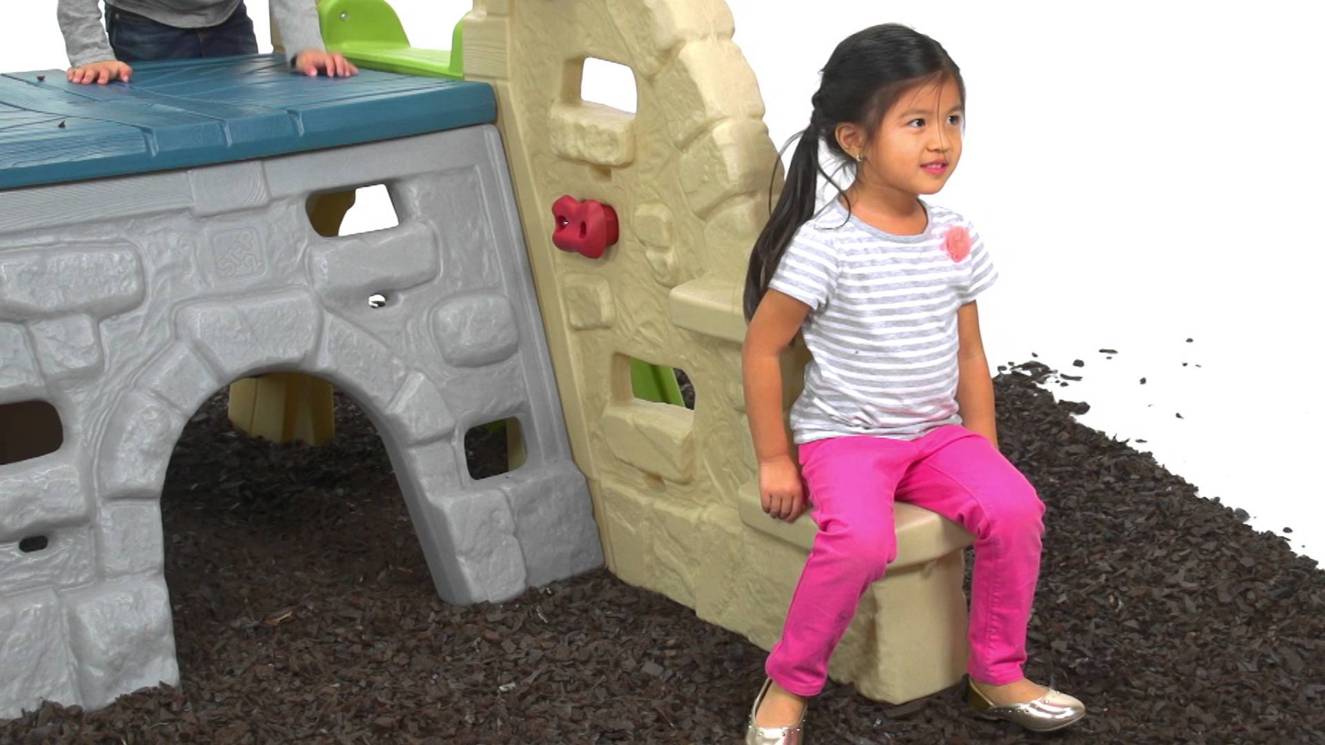 Step 2 Clubhouse Climber Used | Step2 Naturally Playful Woodland Climber | Little Tikes Clubhouse Climber