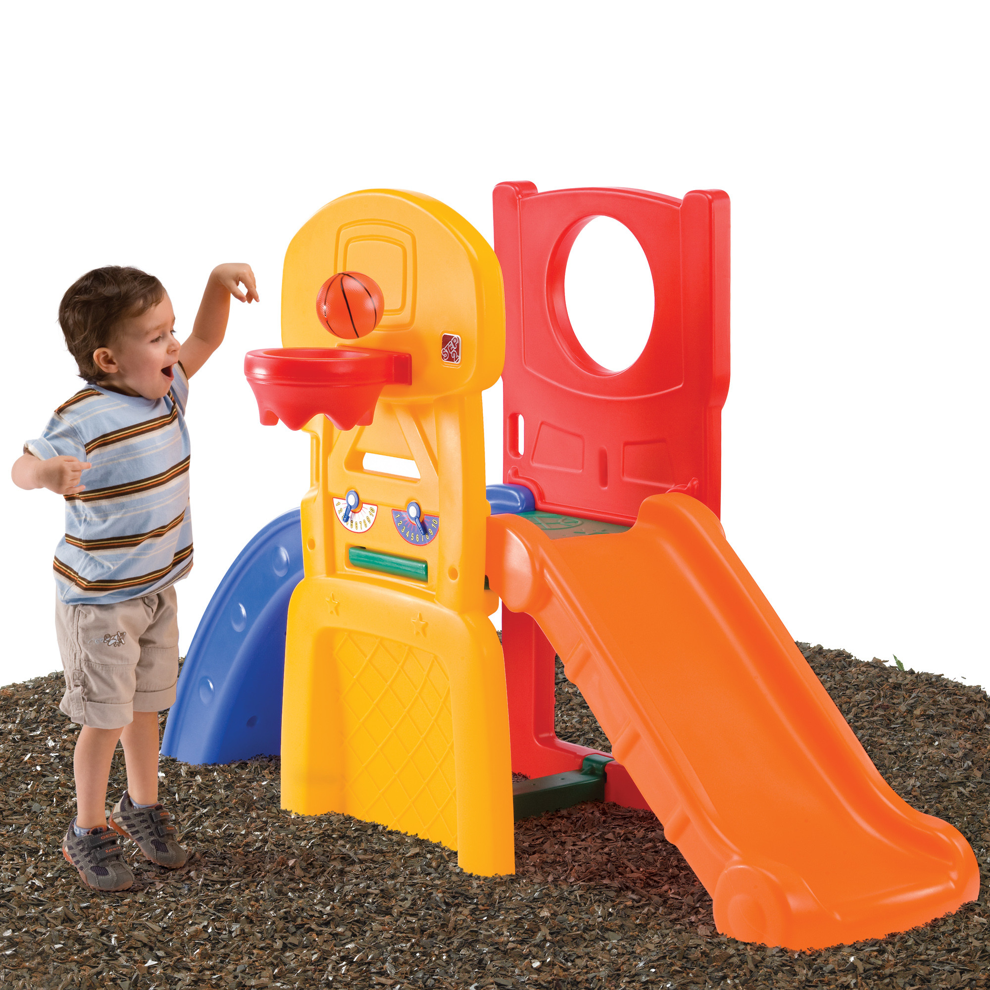 Step 2 Outdoor Climber with Slide | Step 2 Club House | Step2 Naturally Playful Woodland Climber