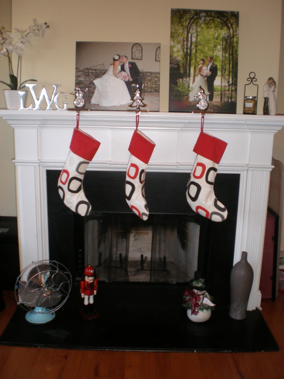 Stocking Holders | Metal Stocking Holder Stand | Christmas Stocking Mantle Holders
