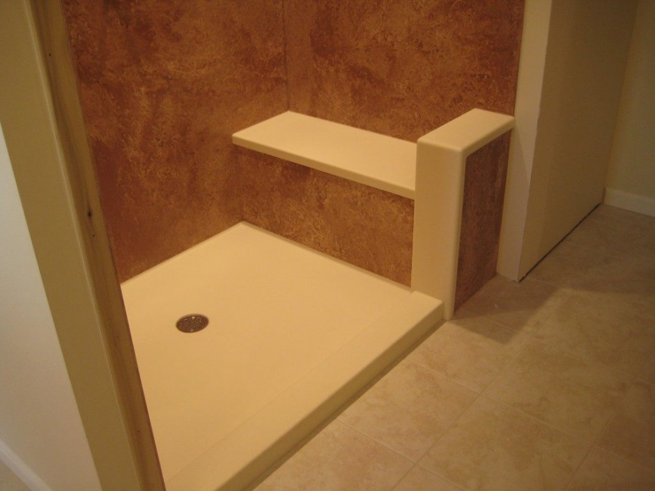 Swanstone | Corian Shower Enclosures | Swanstone Shower Wall Kits