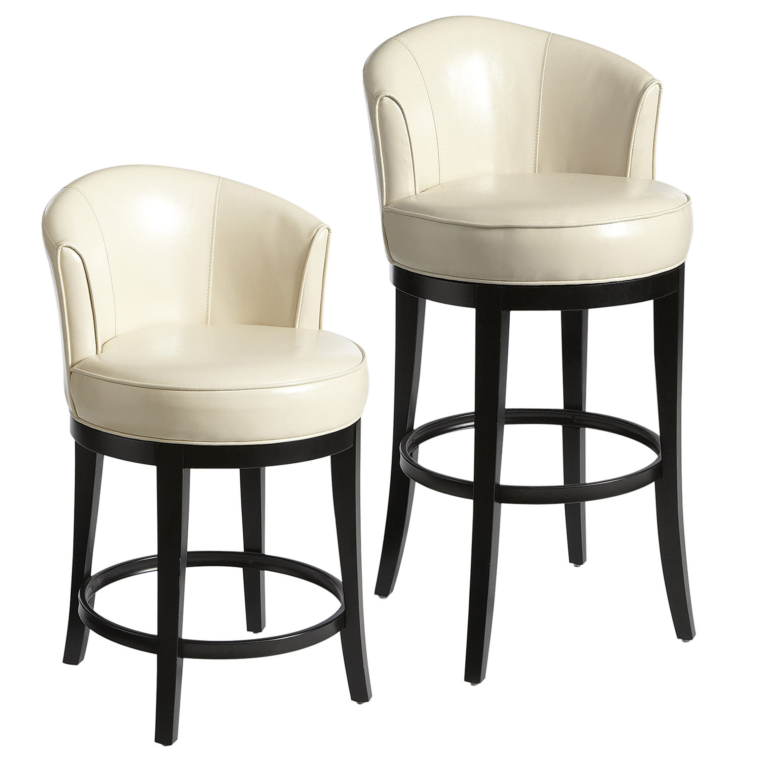 Swivel Bar Stools with Backs | Bar Stools Low Back | Seagrass Bar Stools