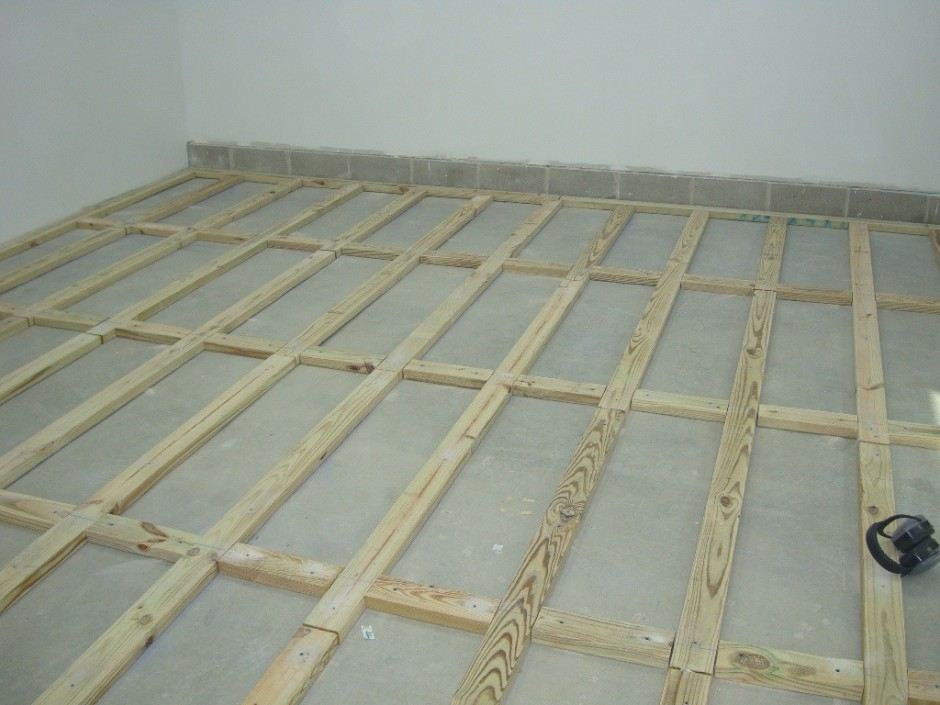 Thermaldry Basement Floor | Thermaldry Flooring | Basement Floor Moisture Barrier