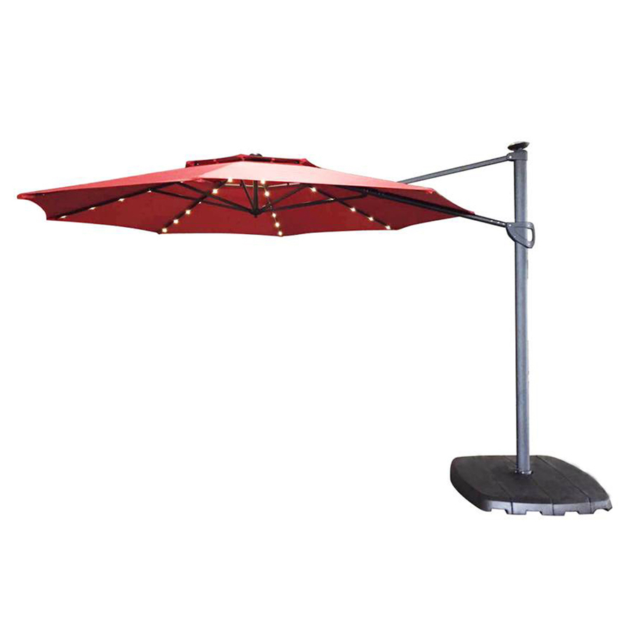 Treasure Garden Cantilever Umbrella 13 | Garden Treasures Offset Umbrella | Sun Shades for Patios  sc 1 st  Marc Charles Steakhouse : patio umbrella replacement canopy - memphite.com